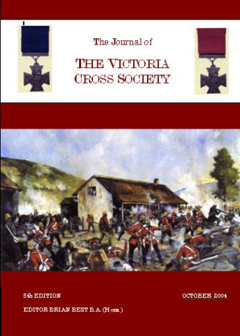 Victoria Cross Society Journal October 2004