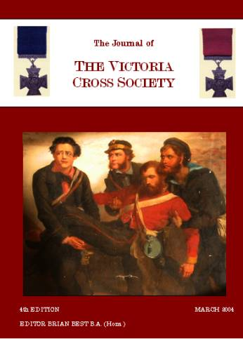 Victoria Cross Society Journal March 2004